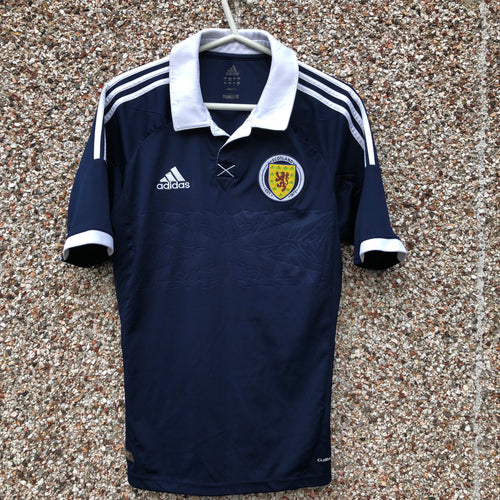 2011 2013 Scotland home Football Shirt - S