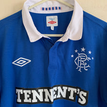 2010 2011 Rangers home football shirt - M