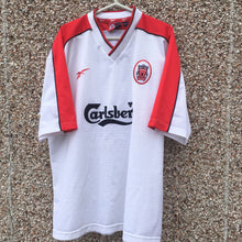 1998 99 Liverpool Away Football Shirt - XL