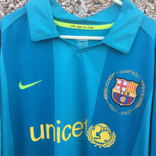 2007 2008 Barcelona Away Football Shirt - XL