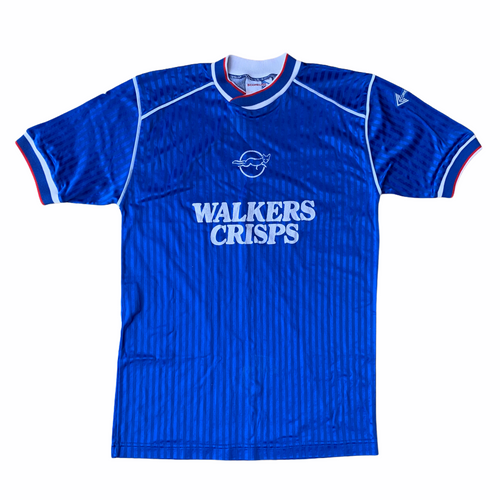 1988 89 LEICESTER CITY HOME FOOTBALL SHIRT - M
