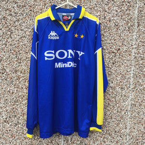 1996 1997 Juventus away LS Away Football shirt - XL