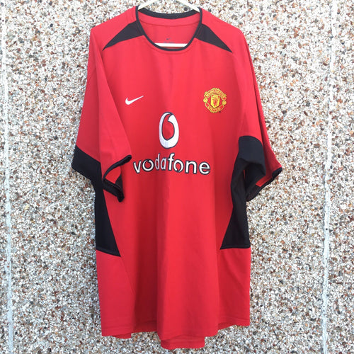 2002 2004 Manchester United home Football Shirt - XXL