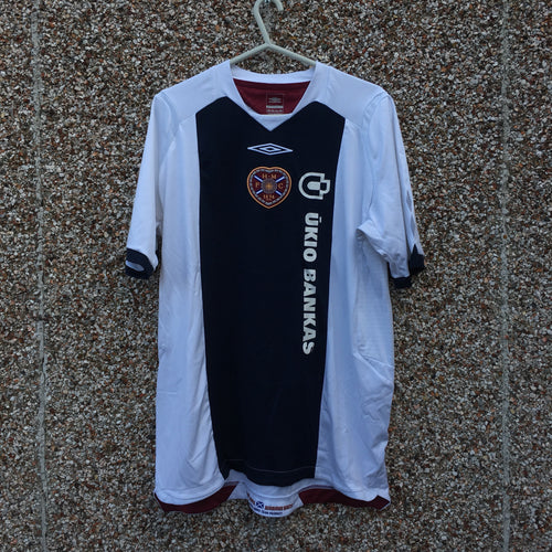2008 2009 Heart of Midlothian away Football Shirt - L