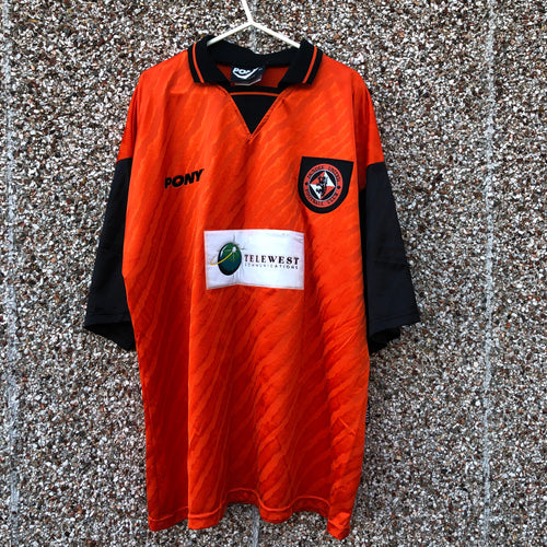1996 1997 Dundee United home football shirt - XL