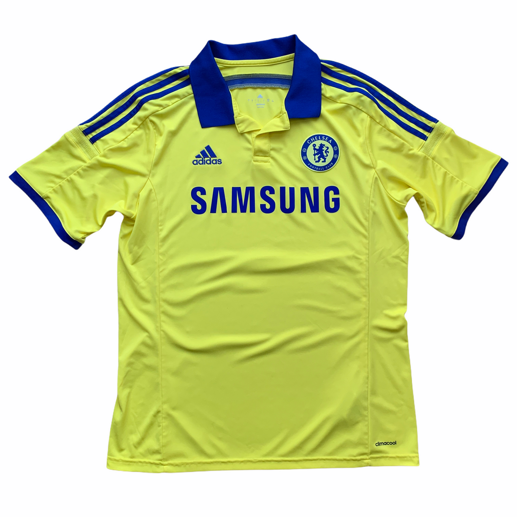 2014 15 CHELSEA AWAY FOOTBALL SHIRT - L