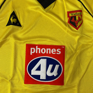 1999 01 WATFORD HOME FOOTBALL SHIRT *BNIB* - S