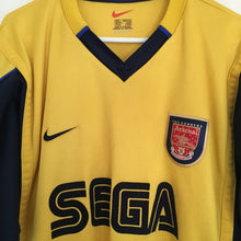 1999 2001 Arsenal SEGA Away Football Shirt - L