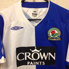2008 09 Blackburn Rovers home football shirt - s