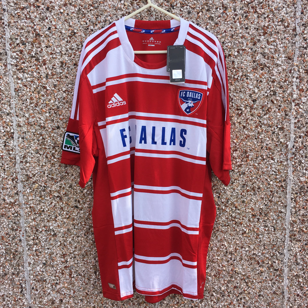 2012 2013 FC Dallas home Football Shirt BNWT - XL