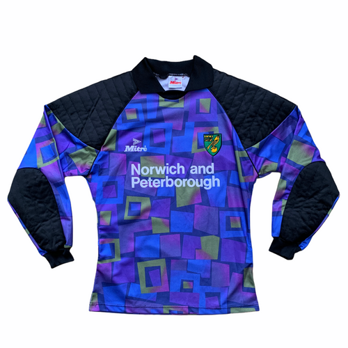 1994 96 NORWICH CITY GOALKEEPER GK SHIRT - S