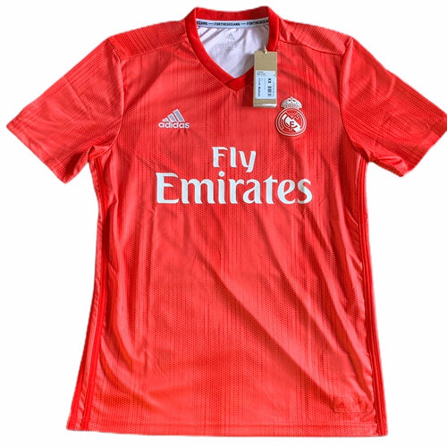 2018 2019 REAL MADRID THIRD FOOTBALL SHIRT *BNWT* - L