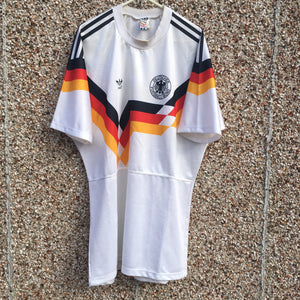 1990 1992 West Germany Home Football Shirt - L