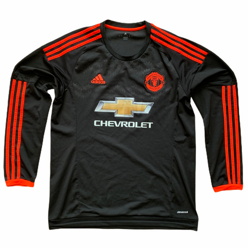 2015 16 MANCHESTER UNITED LS THIRD FOOTBALL SHIRT - L