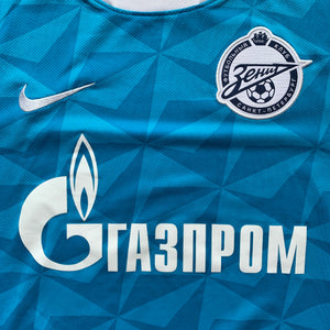 2011 12 ZENIT ST PETERSBURG HOME FOOTBALL SHIRT - S