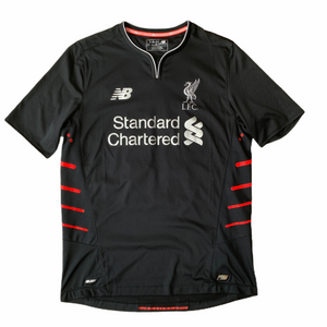 SOLD 2016 17 LIVERPOOL AWAY FOOTBALL SHIRT #11 FIRMINO - M