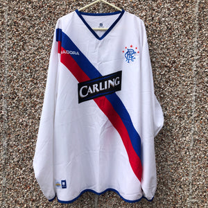 2004 2005 Rangers L/S away football shirt - XL