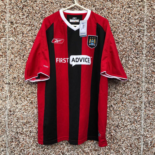 2003 2004 Manchester City Away Football Shirt *BNWT* - L