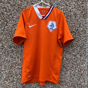 2008 2010 Holland home football shirt - S