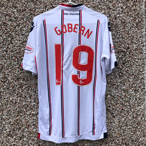 2016 2017 Ross County away Football Shirt OSCAR GOBERN #19 - M