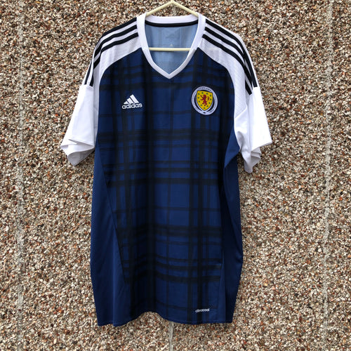 2016 2017 Scotland home Football Shirt - XL