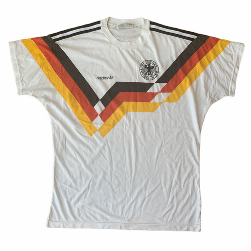 1990 92 WEST GERMANY COTTON T-SHIRT - M