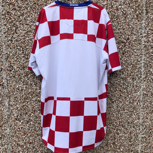 2009 2009 Croatia home Football Shirt - XL