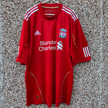 2010 2012 Liverpool home Football Shirt - XL