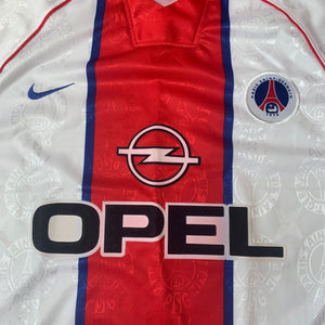 1996 97 PSG PARIS SAINT-GERMAIN AWAY FOOTBALL SHIRT *NWOT* - XL
