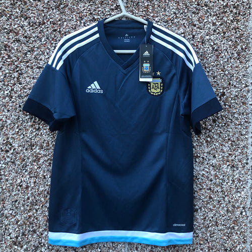 2015 16 Argentina away Football Shirt BNWT - S