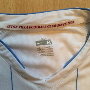 2007 2008 Aston Villa away Football Shirt - M