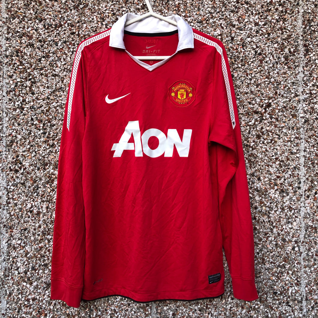 2010 2011 MANCHESTER UNITED HOME FOOTBALL SHIRT - S