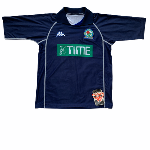 2001 02 BLACKBURN ROVERS AWAY FOOTBALL SHIRT *BNWT* - S