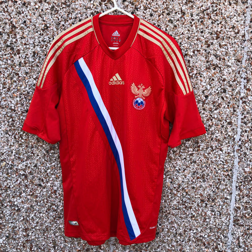 2011 2013 Russia home Football Shirt - S