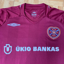 2008 09 HEART OF MIDLOTHIAN HOME FOOTBALL SHIRT - L