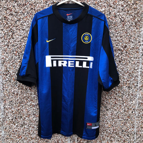 1999 2000 Inter Milan home football shirt - L