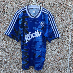 1992 1993 Schalke 04 home Football Shirt - S
