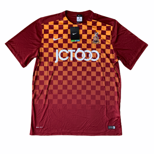 2015 16 BRADFORD CITY HOME FOOTBALL SHIRT *BNWT* - L