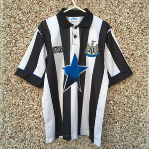 1993 1995 Newcastle United Home Football Shirt - M