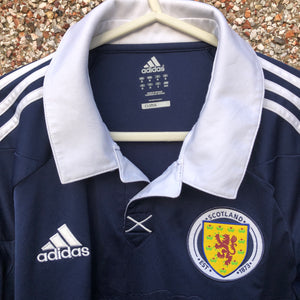 2011 2013 Scotland home Football Shirt LS Long Sleeved - M