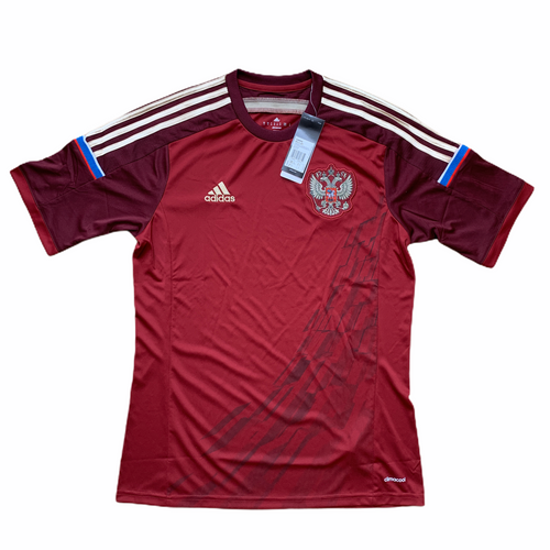 2014 15 RUSSIA HOME FOOTBALL SHIRT *BNWT* - M