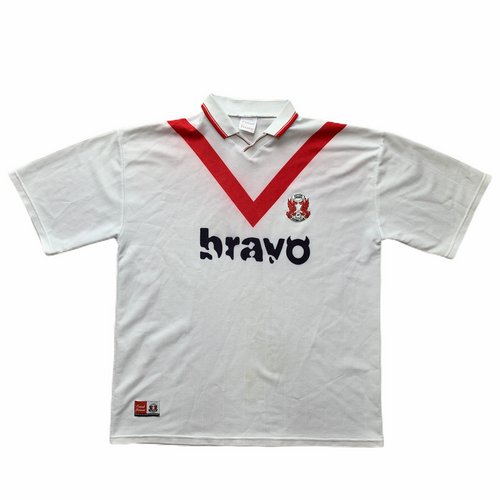1999 00 LEYTON ORIENT HOME FOOTBALL SHIRT - XL