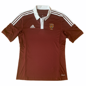 2014 15 HEART OF MIDLOTHIAN HOME FOOTBALL SHIRT - M