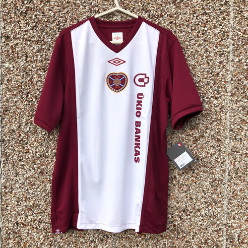 2010 2011 Heart of Midlothian home Football Shirt - BNWT - L