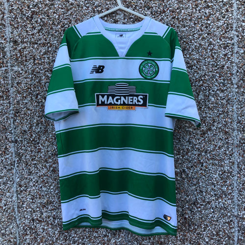 2015 2016 Celtic home Football Shirt - L