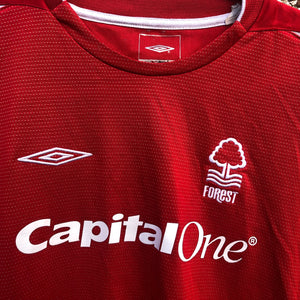 2004 2006 Nottingham Forest home Football Shirt - XLB