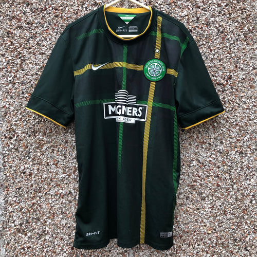 2014 2015 CELTIC AWAY FOOTBALL SHIRT - M