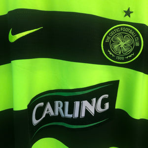 2009 2011 Celtic away Football Shirt - L