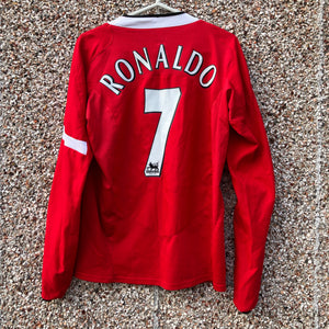 534faa97429 2004 2006 Manchester United home L S football shirt RONALDO  7 - S
