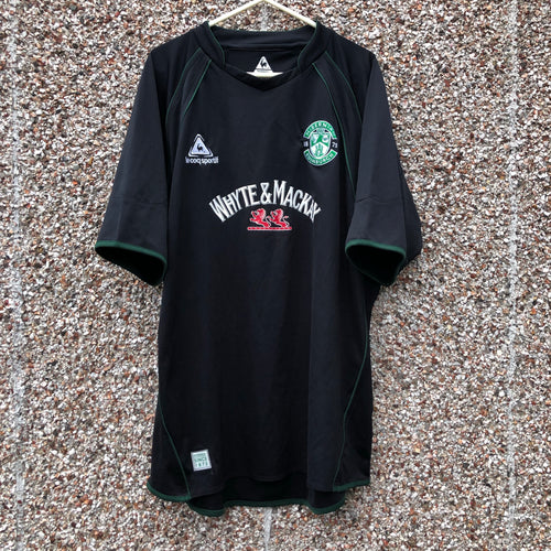 2007 2008 Hibernian away Football Shirt - L